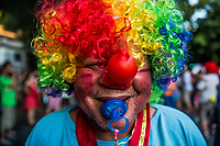 "RIO DE JANEIRO, BRAZIL - FEBRUARY 23, 2014: João Batista dos Santos, 56, an outpatient of the Instituto Philippe Pinel psychiatric hospital smiles during the annual Tá Pirando, Pirado, Pirou! carnival street parade on February 23, 2014 in Rio De Janeiro, Brazil. João Batista dos Santos, 56, who was hospitalized several times before being diagnosed with bipolar disorder and treated with lithium: ""In the asylum João Batista came to see / That being crazy is easy. What's hard is being me."" It looks like any of the other 450 or so street parties, locally called ""carnival blocks,"" that parade through Rio de Janeiro during the raucous pre-Lenten festivities that draw hundreds of thousands to the city each year. What makes this party different are its performers and organizers: psychiatric patients and their doctors, therapists, family members, neighbors and passers-by. The group, called Tá Pirando, Pirado, Pirou!, which roughly translates as ""We're freaking out, we already freaked out!"", began ten years ago when Brazil was in the process of dismantling its century-old system of mental asylums. A law passed in 2001 called for long-term outpatient psychiatric care to be offered primarily in community clinics. The number of such clinics increased more than fivefold in the following decade, while the number of asylum beds for psychiatric patients dropped 40 percent nationwide.<br /> <br /> Daniel Berehulak for The New York Times"