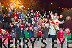 Ardfert Children Carol Singing at the Tree Lighting in the Village Square on Sunday