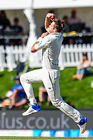 Tim Southee of the Black Caps during Day 3 of the Second International Cricket Test match, New Zealand V England, Hagley Oval, Christchurch, New Zealand, 1st April 2018.Copyright photo: John Davidson / www.photosport.nz