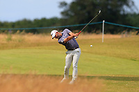 Paul Waring (ENG) on the 12th during Round 2 of the Aberdeen Standard Investments Scottish Open 2019 at The Renaissance Club, North Berwick, Scotland on Friday 12th July 2019.<br /> Picture:  Thos Caffrey / Golffile<br /> <br /> All photos usage must carry mandatory copyright credit (© Golffile | Thos Caffrey)