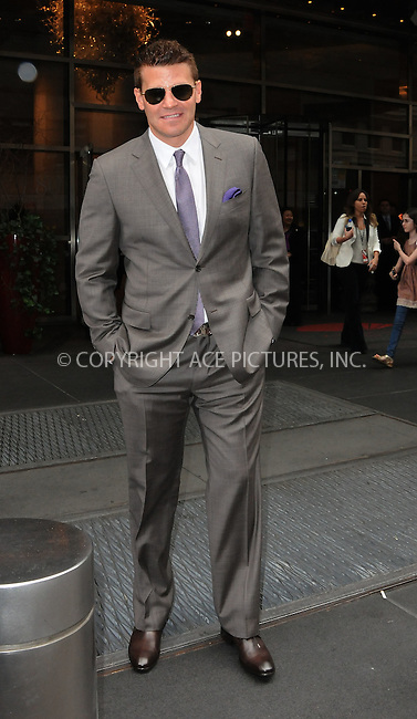 WWW.ACEPIXS.COM . . . . .  ....May 14 2012, New York City....Actor David Boreanaz walks in midtown Manhattan on May 14 2012 in New York City....Please byline: CURTIS MEANS - ACE PICTURES.... *** ***..Ace Pictures, Inc:  ..Philip Vaughan (212) 243-8787 or (646) 769 0430..e-mail: info@acepixs.com..web: http://www.acepixs.com