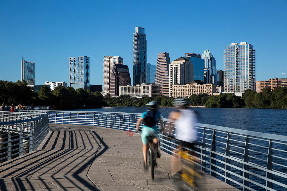 The Boardwalk Trail at Lady Bird Lake connects the trail by the Austin American Statesman Building to Lakeshore Park, closing the southeastern gap of the hike and bike trail. The Boardwalk Trail is paradise for walkers, runners, and cyclists with stunning views of Lady Bird Lake and the Austin skyline.