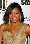 BEVERLY HILLS, CA. - October 27: Actress Taraji P. Henson arrives at the 12th Annual Hollywood Film Festival Awards Gala at the Beverly Hilton Hotel on October 27, 2008 in Beverly Hills, California.