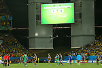 Japan team group (JPN), <br /> JUNE 24, 2014 - Football /Soccer : <br /> 2014 FIFA World Cup Brazil <br /> Group Match -Group C- <br /> between Japan 1-4 Colombia <br /> at Arena Pantanal, Cuiaba, Brazil. <br /> (Photo by YUTAKA/AFLO SPORT)