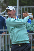 Matt Kuchar (USA) watches his tee shot on 10 during Round 3 of the Valero Texas Open, AT&amp;T Oaks Course, TPC San Antonio, San Antonio, Texas, USA. 4/21/2018.<br /> Picture: Golffile   Ken Murray<br /> <br /> <br /> All photo usage must carry mandatory copyright credit (&copy; Golffile   Ken Murray)
