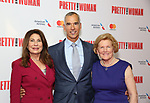 Paula Wagner, Jerry Mitchell and Barbara Marshall Tribute Performance of 'Pretty Woman:The Musical' at the Nederlander Theatre on August 1, 2018 in New York City.