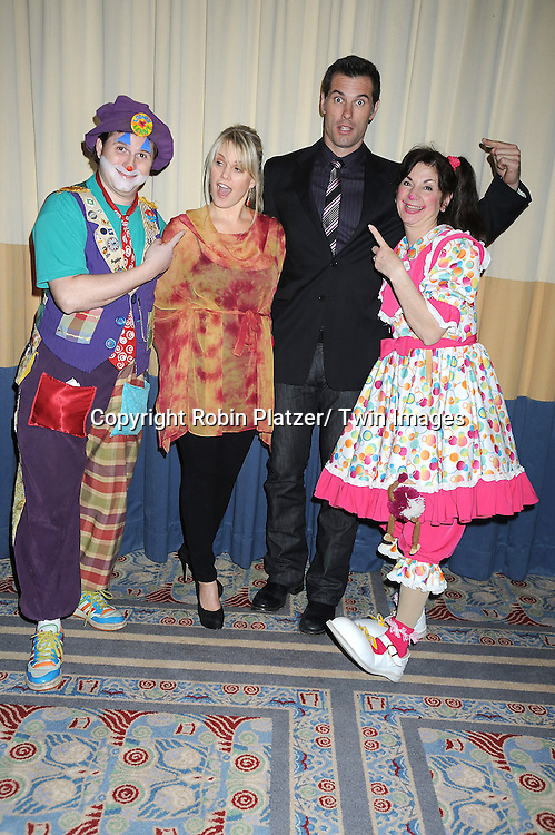 clown,Terri Conn and Austin Peck and Hug-a-Me attending the 26th Annual Starlight Children's Foundation Gala on March 16, 2011 at The Marriott Marquis Hotel in New York City.