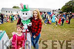 Erica Keating, Ellie Forde and Bunny Rabbit, enjoying a magical day at the Kilflynn Enchanted Fairy Festival on Sunday afternoon last.