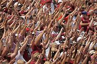 NWA Democrat-Gazette/BEN GOFF @NWABENGOFF<br /> Arkansas vs UTEP football on Saturday Sept. 5, 2015 in Razorback Stadium in Fayetteville.