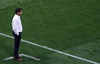 MOSCU - RUSIA, 11-07-2018: Zlatko DALIC técnico de Croacia durante partido de Semifinales contra de Inglaterra por la Copa Mundial de la FIFA Rusia 2018 jugado en el estadio Luzhnikí en Moscú, Rusia. / Zlatko DALIC coach of Croatia during match of Semi-finals for the FIFA World Cup Russia 2018 played at Luzhniki Stadium in Moscow, Russia. Photo: VizzorImage / Julian Medina / Cont