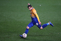 Timi Elsnik of Mansfield Town in action during Charlton Athletic vs Mansfield Town, Emirates FA Cup Football at The Valley on 20th November 2018