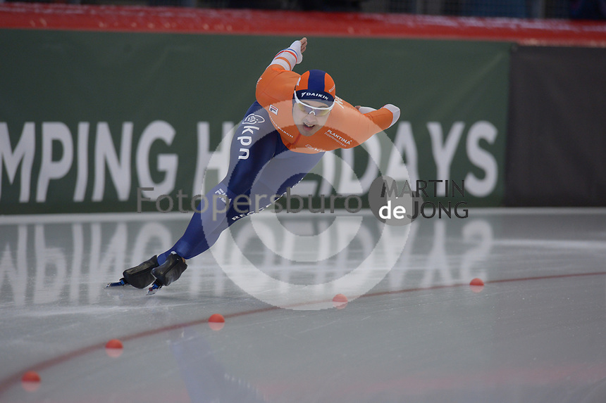 SPEEDSKATING: INZELL: Max Aicher Arena, 09-02-2019, ISU World Single Distances Speed Skating Championships, Kai Verbij, ©photo Martin de Jong
