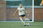 Kate Ravenna (29) of the Wake Forest Demon Deacons during first half action against the Tennessee Volunteers at W. Dennie Spry Stadium on the campus of Wake Forest University on August 23, 2018 in Winston-Salem, North Carolina.  The Demon Deacons and the Volunteers played to a 1-1 draw.