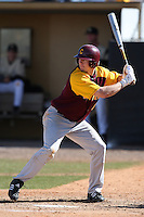 March 7, 2010:  First Baseman Nate Theunissen (9) of the Central Michigan Chippewas during game at Jay Bergman Field in Orlando, FL.  Central Michigan defeated Central Florida by the score of 7-4.  Photo By Mike Janes/Four Seam Images