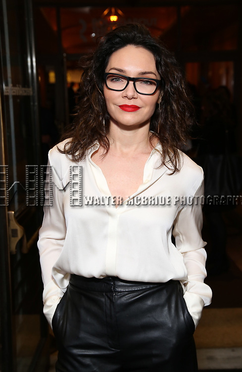 """Katrina Lenk Attends the Broadway Opening Night of """"All My Sons"""" at The American Airlines Theatre on April 22, 2019  in New York City."""
