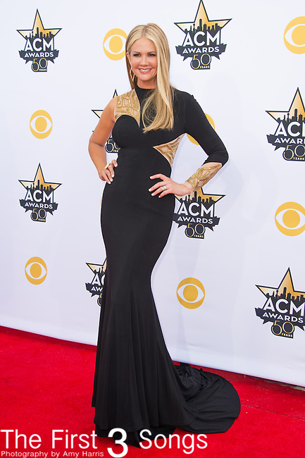 Nancy O'Dell attends the 50th Academy Of Country Music Awards at AT&T Stadium on April 19, 2015 in Arlington, Texas.