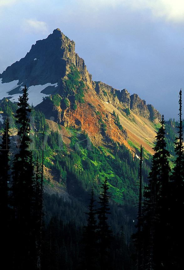 Pinnacle Peak, Tatoosh Range, Mount Rainier National Park, Washington