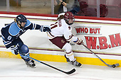 Brittany Kucera (Maine - 8), Caitrin Lonergan (BC - 11) - The Boston College Eagles defeated the visiting University of Maine Black Bears 2-1 on Saturday, October 8, 2016, at Kelley Rink in Conte Forum in Chestnut Hill, Massachusetts.  The University of North Dakota Fighting Hawks celebrate their 2016 D1 national championship win on Saturday, April 9, 2016, at Amalie Arena in Tampa, Florida.