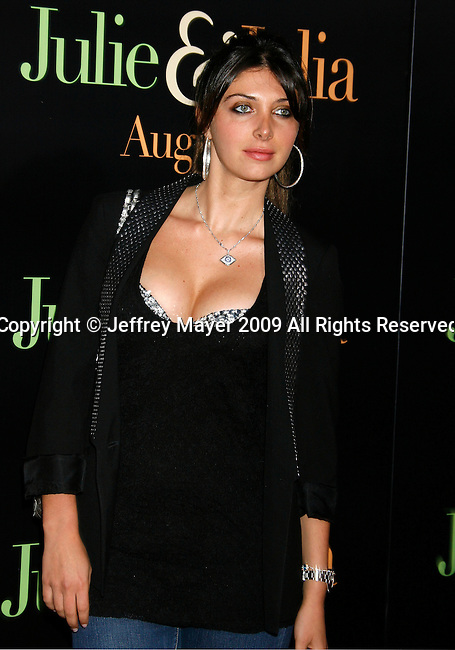 """WESTWOOD, CA. - July 27: Brittny Gastineau arrives at the Los Angeles screening  of """"Julie & Julia"""" at the Mann Village Theatre on July 27, 2009 in Westwood, California."""