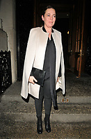 Olivia Colman at the Mencap Fashion Evening, Goldsmiths Hall, Foster Lane, London, England, UK, on Monday 12 March 2018.<br /> CAP/CAN<br /> &copy;CAN/Capital Pictures