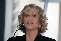 Hollywood, CA - November 06 Jane Fonda, Attends Michael Douglas Honored With Star On The Hollywood Walk Of Fame on November 06, 2018. <br /> CAP/MPI/FS<br /> &copy;FS/MPI/Capital Pictures