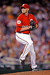 21 June 2008: Washington Nationals' relief pitcher Charlie Manning on the mound against the Texas Rangers at Nationals Park in Washington, DC. The Rangers defeated the Nationals 13-3 in the second game of their 3-game inter-league series...Mandatory Photo Credit: Ed Wolfstein Photo