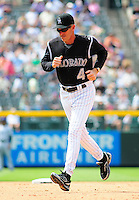 June 18, 2009: Rockies manager and 2009 National League Manager of the Year candidate Jim Tracy during a game between the Tampa Bay Rays and the Colorado Rockies at Coors Field in Denver, Colorado. The Rockies beat the Rays 4-3.