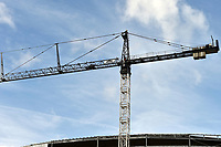 A crane at the Tottenham Hotspur Stadium work in progress at  High Road (White Hart Lane), London, England on 18 October 2018. Photo by Vince  Mignott.