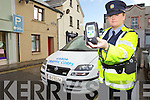 Gardai countywide will be present on the roads of the coming Bank Holiday weekend focusing on the new reduced drink driving limits Pictured Garda Fidelma O'Leary of Tralee Traffic Corp.