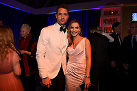 BEVERLY HILLS - JANUARY 6: Justin Hartley and Chrishell Stause attend the 2019 Fox Nominee Party for the 76th Annual Golden Globe Awards at the Fox Terrace on the Roof Deck of the Beverly Hilton on January 6, 2019, in Beverly Hills, California. (Photo by Frank Micelotta/Fox/PictureGroup)