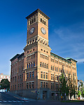 Tacoma, WA<br /> Old City Hall building (1892) in the Old City Hall Historic District of Tacoma's downtown