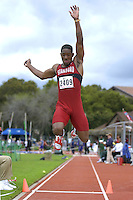 31 March 2006: Soloman Welch during Stanford's Track & Field Invitational at Cobb Track & Angell Field in Stanford, CA.