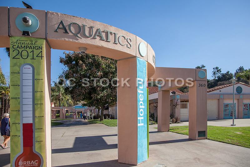 Rose Bowl Aquatics Center Pasadena California