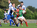 Glen EmmetsMark Noone Lannleire John McGeough. Photo: Colin Bell/Pressphotos.ie