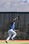 Wildcats' Jake Bennett makes a catch against College of Southern Nevada at Western Nevada College in Carson City, Nev., on Thursday, March 26, 2015. <br /> Photo by Cathleen Allison/Nevada Photo Source