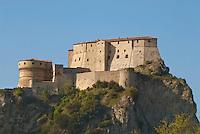 la rocca di San Leo, provincia di Rimini