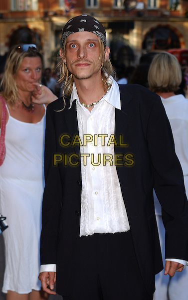 McKENZIE CROOK.Pirates Of The Caribbean UK Film Premiere.14th July 2003.half length, half-length, bandana.www.capitalpictures.com.sales@capitalpictures.com.Supplied By Capital PIctures
