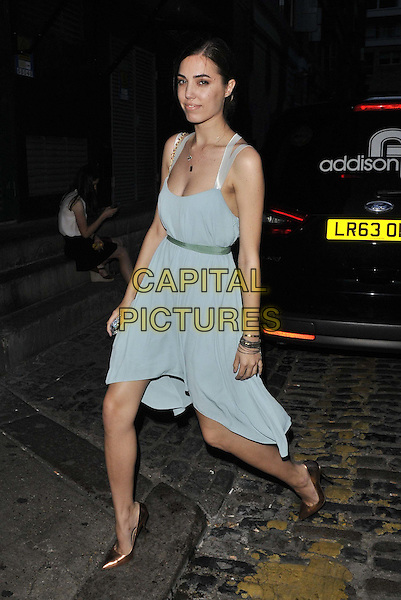 LONDON, ENGLAND - JULY 17: Amber Le Bon attends the Warner Music Group &amp; GQ 2014 summer party, Shoreditch House, Ebor St., on Thursday July 17, 2014 in London, England, UK.<br /> CAP/CAN<br /> &copy;Can Nguyen/Capital Pictures