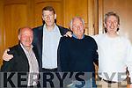 Desmonds legends Domo Kirwin, Dermot Hanafin, Charlie Nelligan and John Lordan at their 1985 All Ireland club Championship reunion in the River Island Hotel on Saturday night