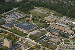North Campus. Aerial photos taken from the Goodyear Blimp over Ann Arbor, Mich. on Friday, September 26, 2003. (TONY DING/Daily)