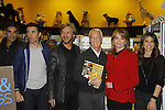"""Cast of Days Of Our Lives - Galen Gering, Eddie Flynn, Stephen Nichols, Greg Meng, Diedre Hall, Kate Mansi, sign book """"Days Of Our Lives 50 Years"""" by Greg Meng - author & co-executive producer on October 27, 2015 at Books & Greetings, Northvale, New Jersey. (Photo by Sue Coflin/Max Photos)"""