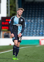Jason McCarthy of Wycombe Wanderers shows disappointment with a draw at full time during the Sky Bet League 2 match between Wycombe Wanderers and Barnet at Adams Park, High Wycombe, England on 16 April 2016. Photo by Andy Rowland.