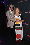 "Donald T. Sanders and Eve Wolf attends the Opening Night After Party for the Ensemble for the Romantic Century production of ""Tchaikovsky: None But the Lonely Heart"" Off-Broadway Opening Night  at West Bank Cafe on May 31, 2018 in New York City."