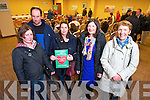 Bernadette O'Sullivan,John O'Sullivan, Eimear Conway, Julie O'Connell, Postmistress, and Helen Shanahan, Portmagee Post office, at the public meeting of a national campaign to get local services maintained in rural  post offices held at the Carlton Hotel on Tuesday