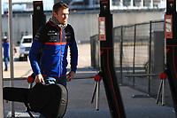 31st October 2019; Circuit of the Americas, Austin, Texas, United States of America; F1 United States Grand Prix, team arrival day; Scuderia Toro Rosso, Daniil Kvyat - Editorial Use