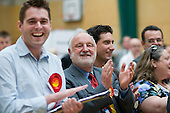 Frank Dobson MP and party supporters cheer as Labour gain a ward from the Liberal Democrats in the Camden Council local elections 2010, in which Labour defeated the ruling Lib-Dem Conservative coalition.