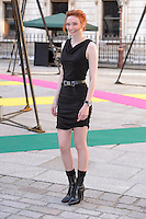 Eleanor Tompkinson_ at the Royal Academy of Arts Summer Exhibition 2015 at the Royal Academy, London. <br /> June 3, 2015  London, UK<br /> Picture: Dave Norton / Featureflash