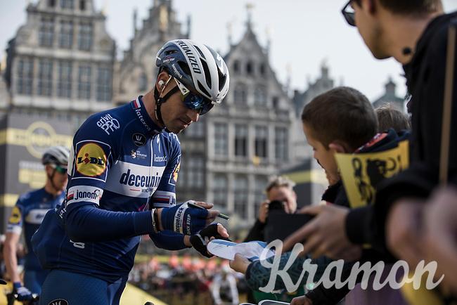 Zdenek Stybar (CZE/Deceuninck-Quick Step) pre race<br /> <br /> 103rd Ronde van Vlaanderen 2019<br /> One day race from Antwerp to Oudenaarde (BEL/270km)<br /> <br /> ©kramon