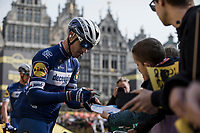 Zdenek Stybar (CZE/Deceuninck-Quick Step) pre race<br /> <br /> 103rd Ronde van Vlaanderen 2019<br /> One day race from Antwerp to Oudenaarde (BEL/270km)<br /> <br /> ©kramon