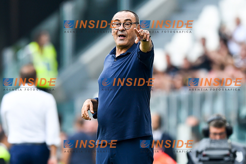Maurizio Sarri coach of Juventus <br /> Torino 28/09/2019 Allianz Stadium <br /> Football Serie A 2019/2020 <br /> Juventus FC - SPAL <br /> Photo Image Sport / Insidefoto